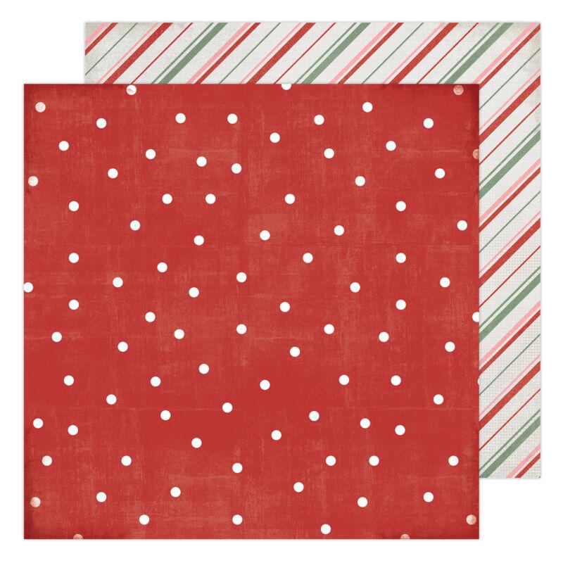 Heidi Swapp - Winter Wonderland 12x12 Patterned Paper - Falalala