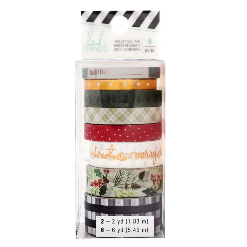 Heidi Swapp - Winter Wonderland Washi Tape Set (8 Piece)