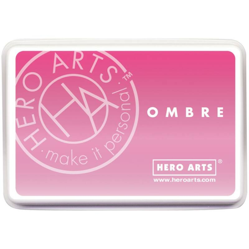 Hero Arts Ombre Ink Pad - Pink To Red