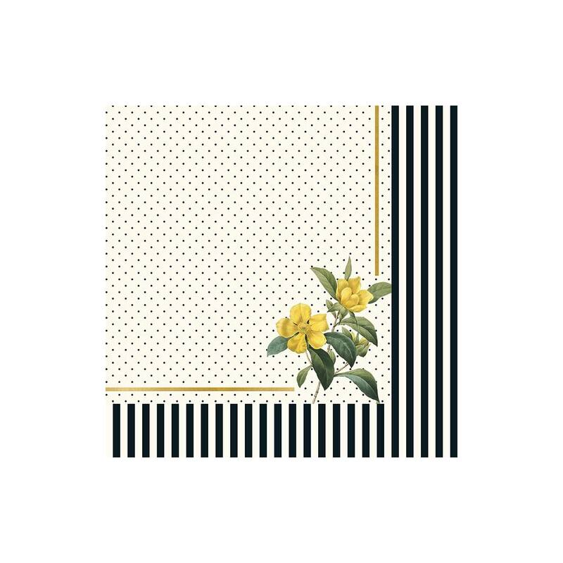 My Mind's Eye - In Bloom 12x12 Double Sided Paper - Flora