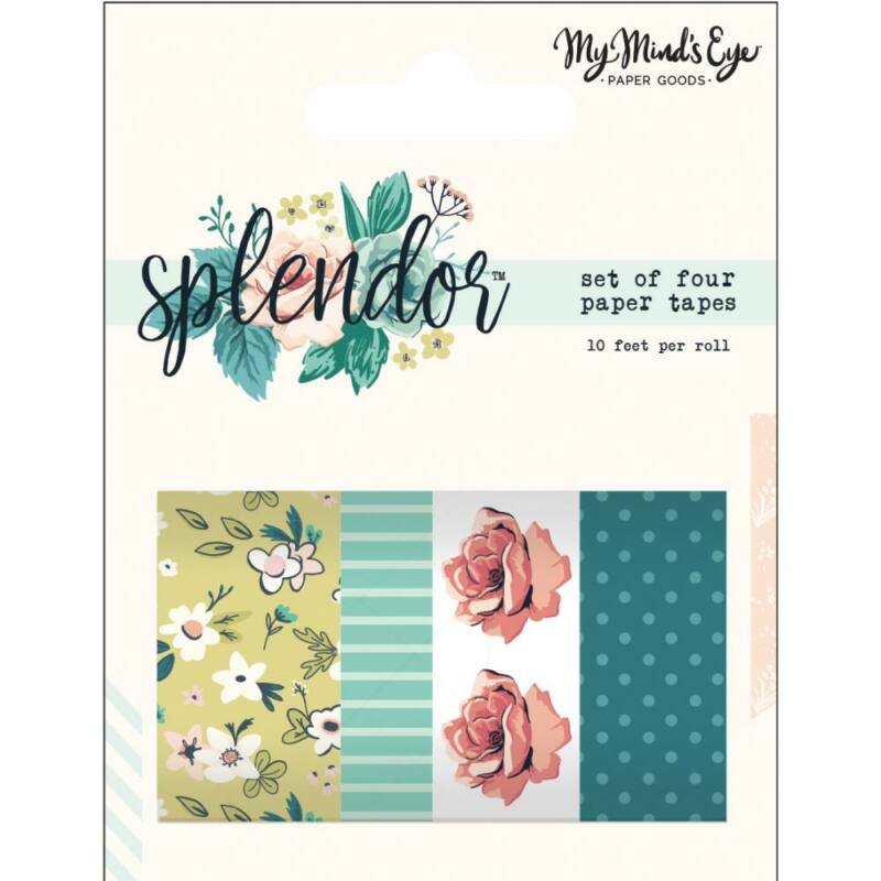 My Mind's Eye - Splendor Washi Set (4 Piece)