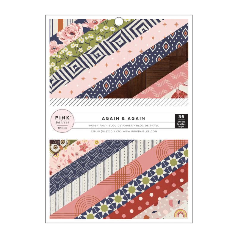 Pink Paislee - Again & Again 6x8 Paper Pad (36 Sheets)