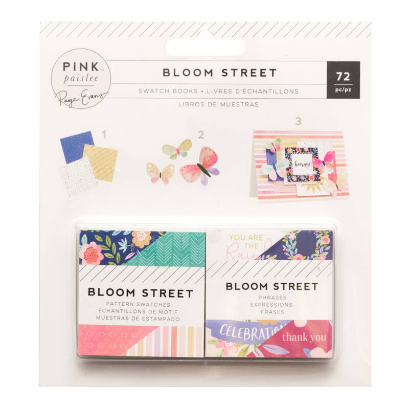 Pink Paislee - Paige Evans - Bloom Street 2x2 mini papírtömb (72 lap)