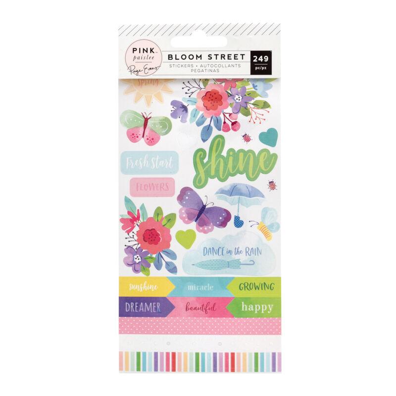 Pink Paislee - Paige Evans - Bloom Street Sticker Book (249 Piece)