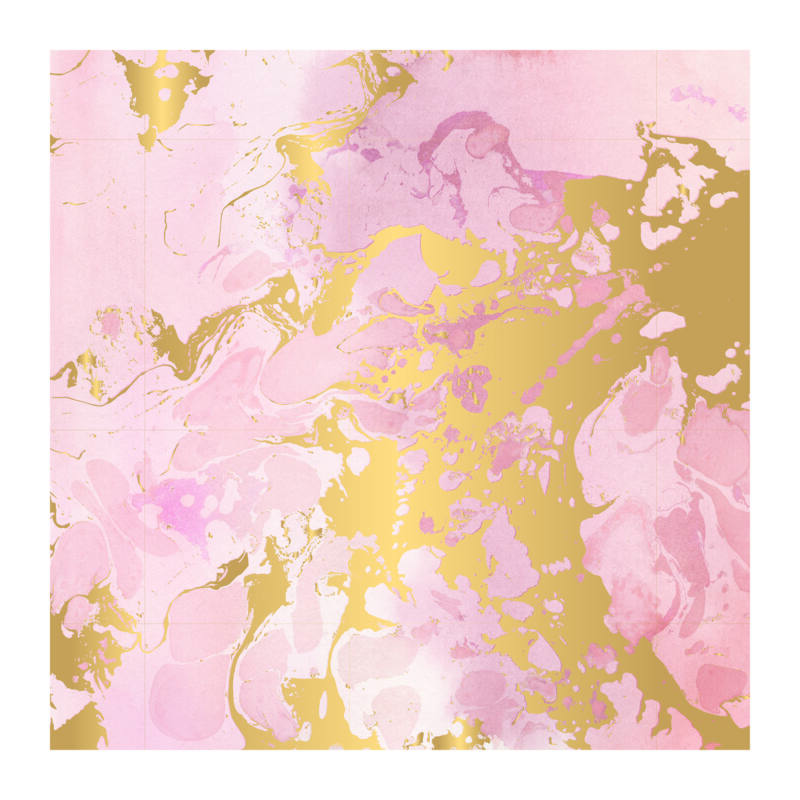 Pink Paislee - Indigo and Ivy 12x12 Specialty Paper