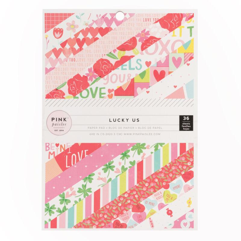 Pink Paislee - Lucky Us 6x8 papírtömb (36 lap)