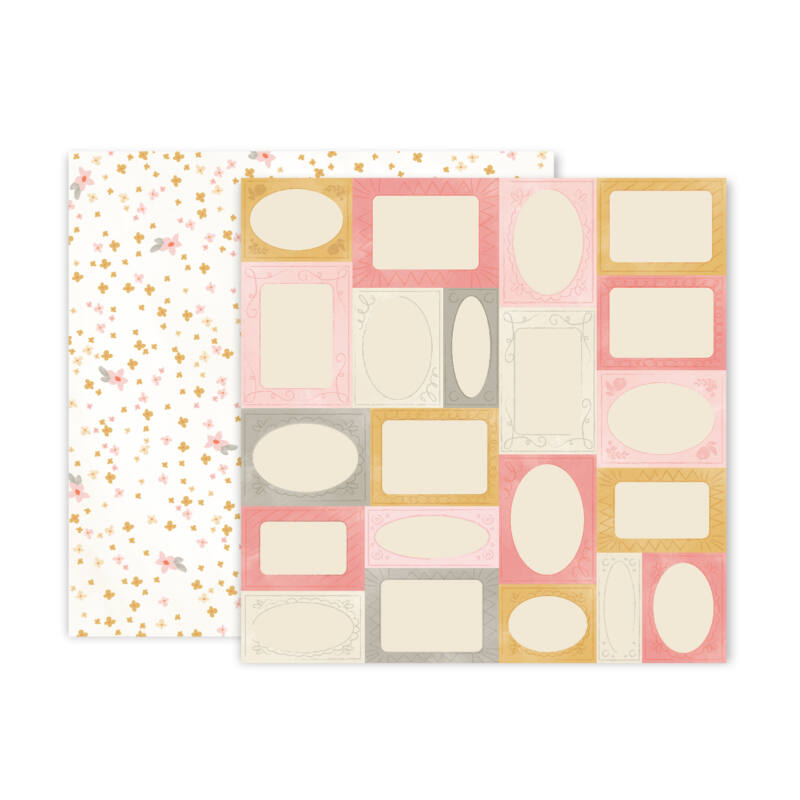 Pink Paislee - Little Adventurer 12x12 Patterned Paper - Paper 6