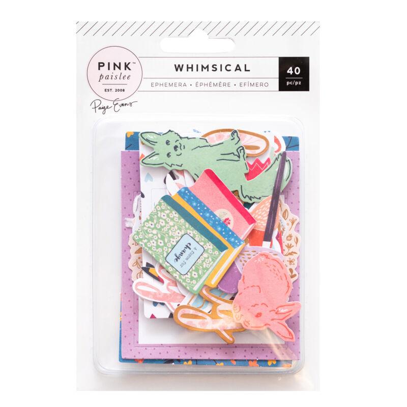 Pink Paislee - Paige Evans Whimsical Ephemera (40 Piece)