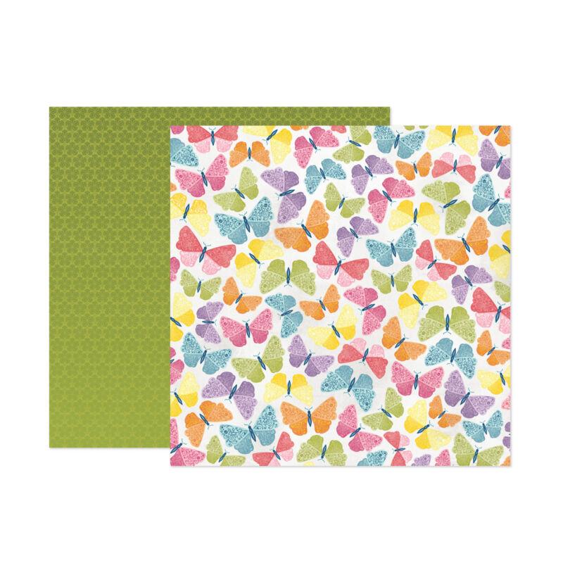 American Crafts - Paige Evans - Wonders 12x12 Paper 8