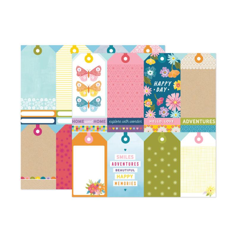 American Crafts - Paige Evans - Wonders 12x12 Paper 12