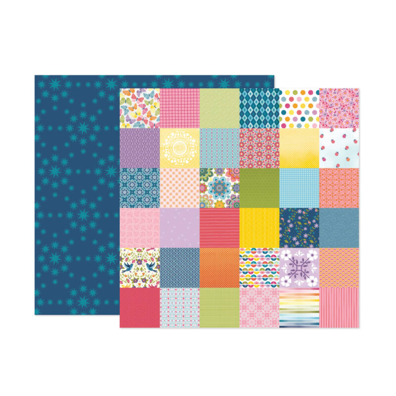 American Crafts - Paige Evans - Wonders 12x12 Paper 20
