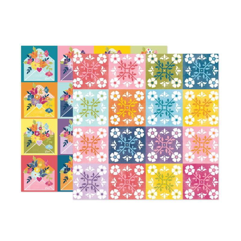 American Crafts - Paige Evans - Wonders 12x12 Paper 22