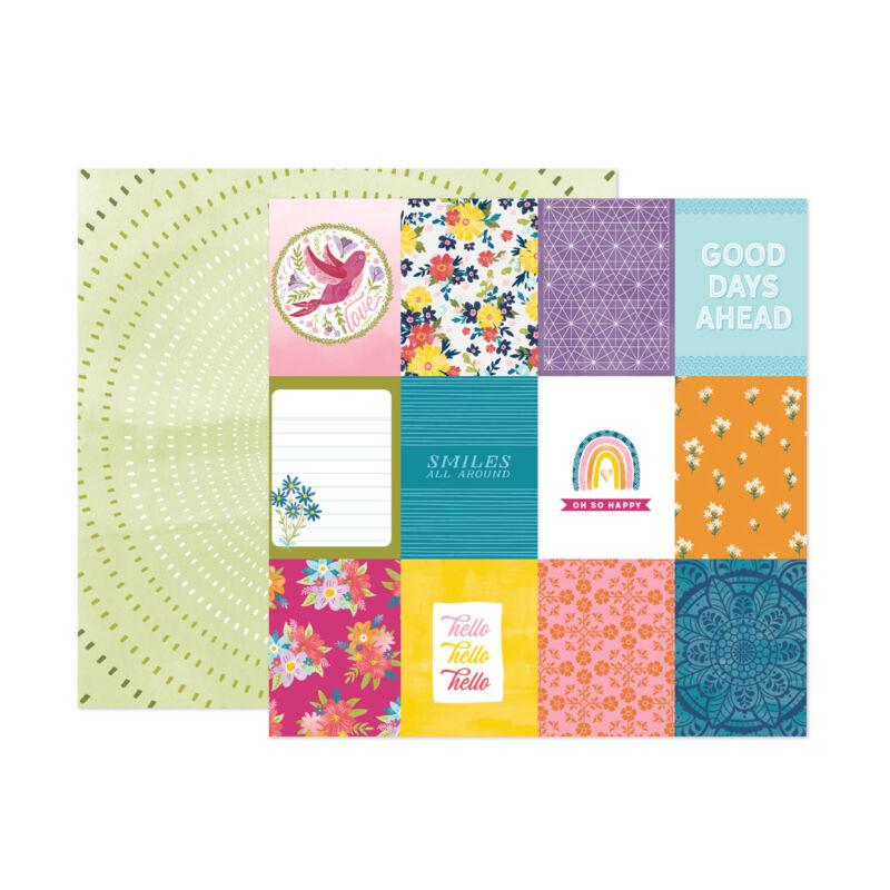 American Crafts - Paige Evans - Wonders 12x12 Paper 24