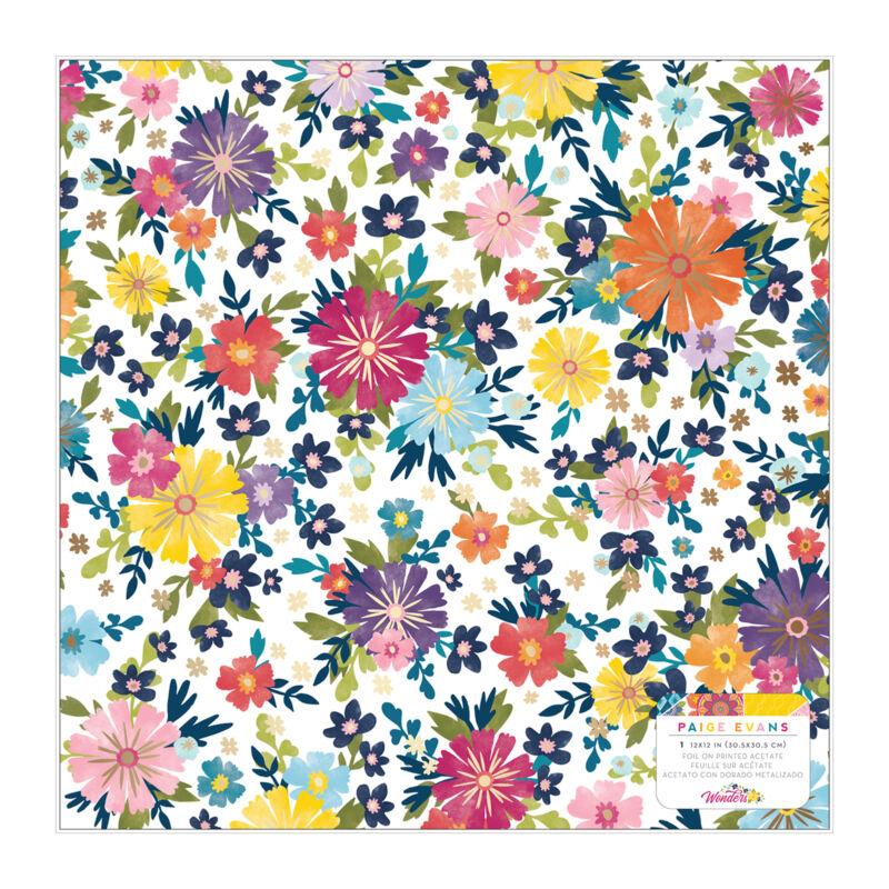 American Crafts - Paige Evans - Wonders 12x12 Specialty Paper