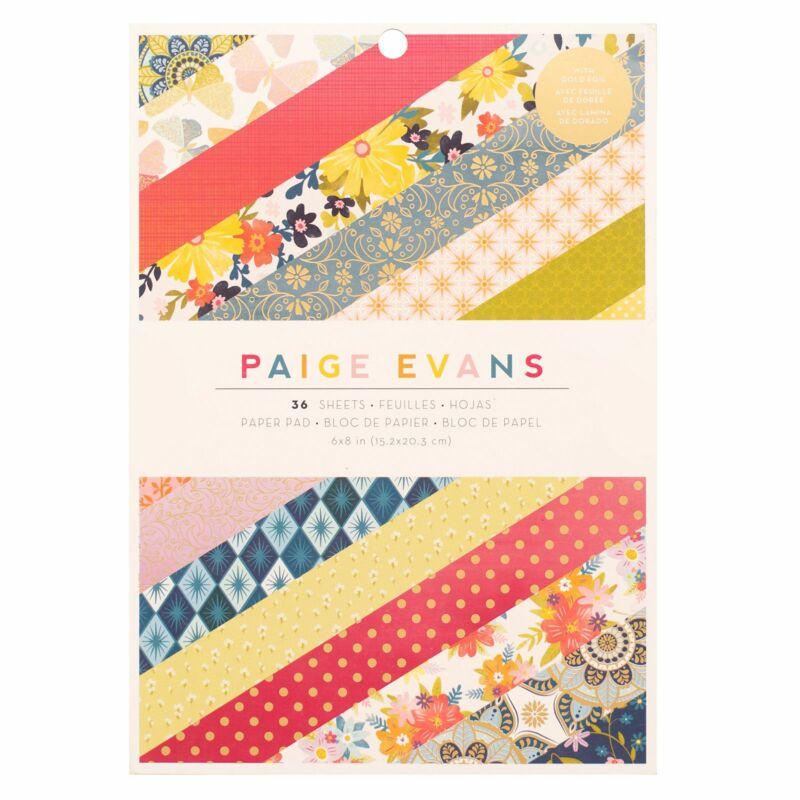 American Crafts - Paige Evans - Wonders 6x8 Paper Pad (36 Sheets)
