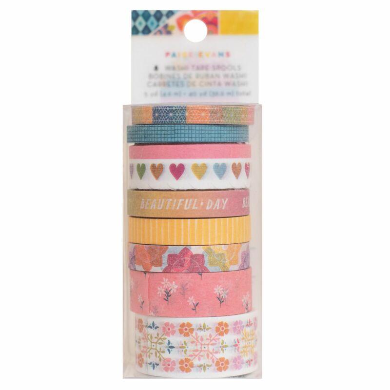 American Crafts - Paige Evans - Wonders Washi Tape Set (8 Piece)