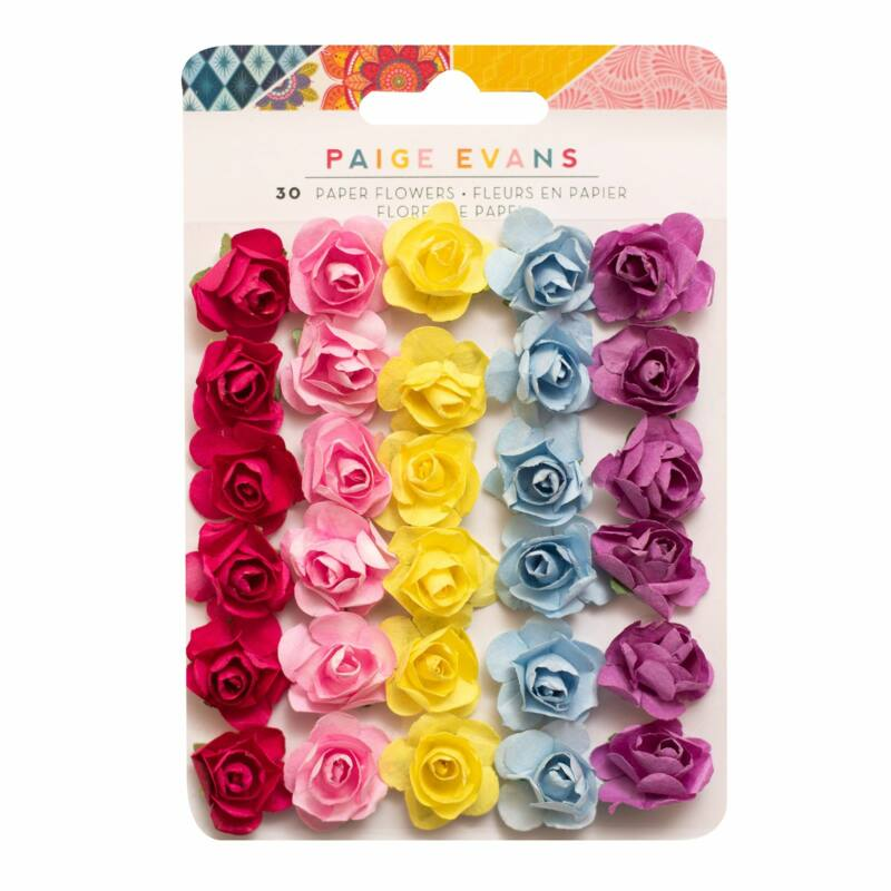 American Crafts - Paige Evans - Wonders Paper Flowers (30 Piece)