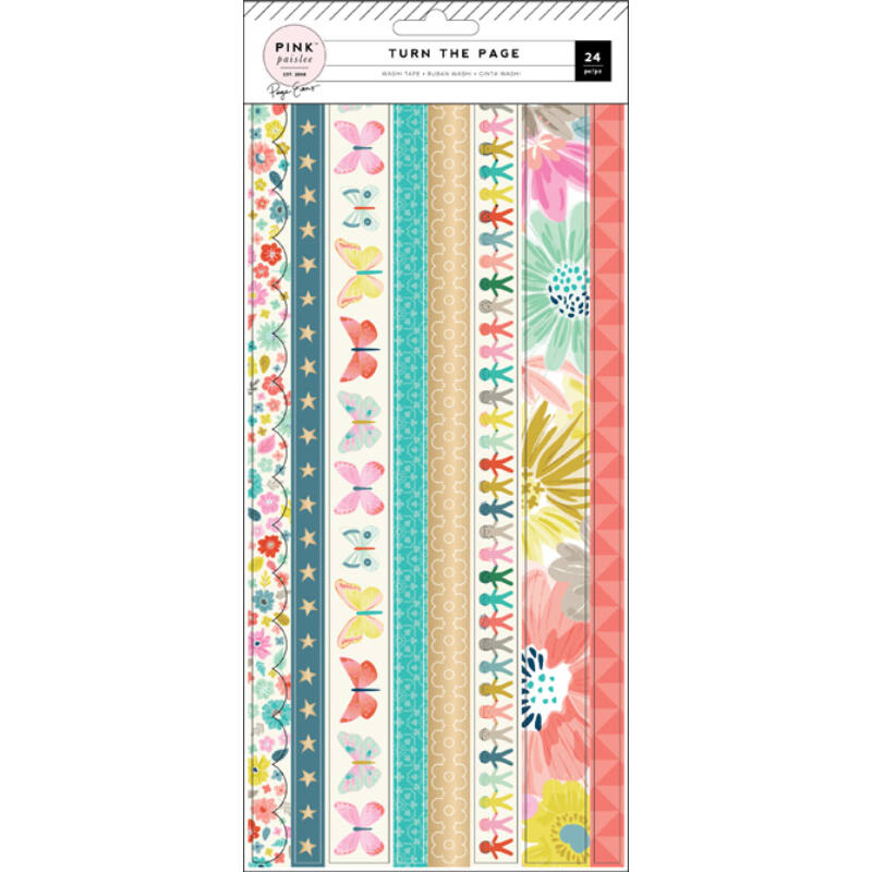 Pink Paislee - Paige Evans - Turn The Page Washi Booklet