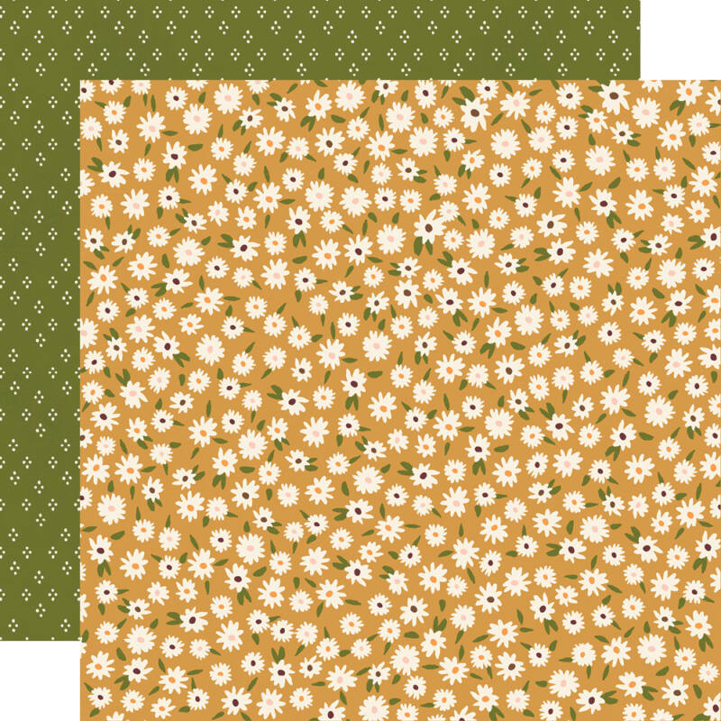 Simple Stories - Cozy Days 12x12 Paper - Hello Autumn