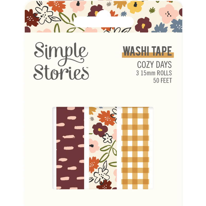 Simple Stories - Cozy Days Washi Tape