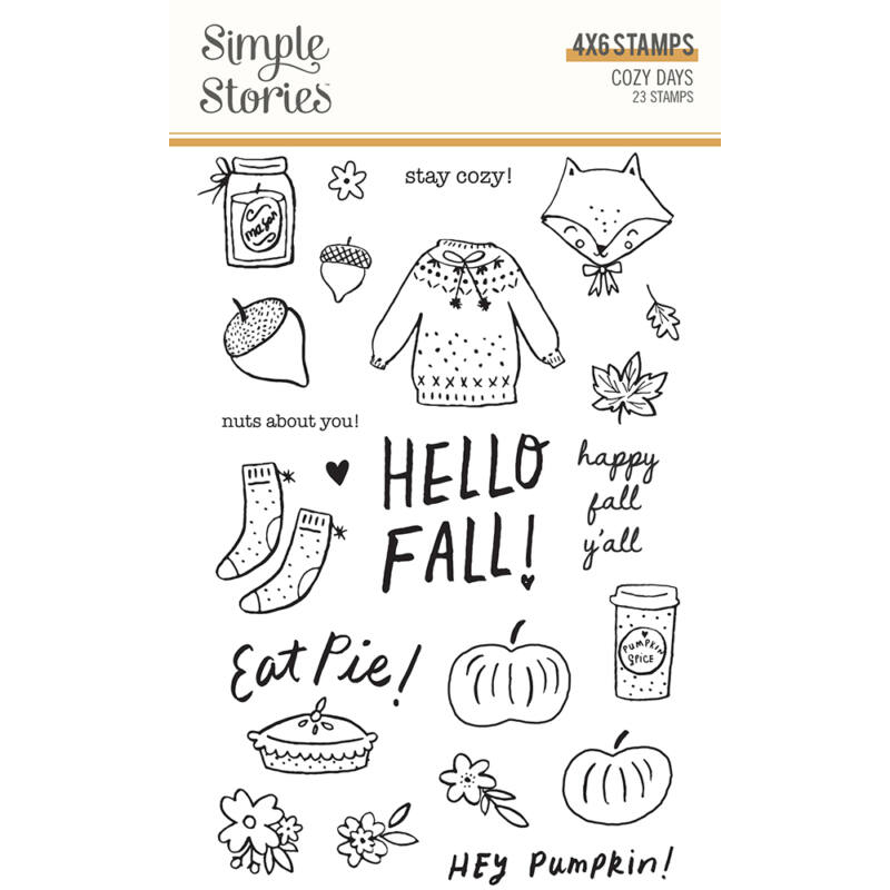 Simple Stories - Cozy Days Stamps
