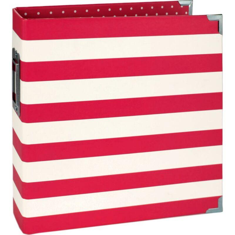 Simple Stories - SNAP 6x8 Designer Binder - Red