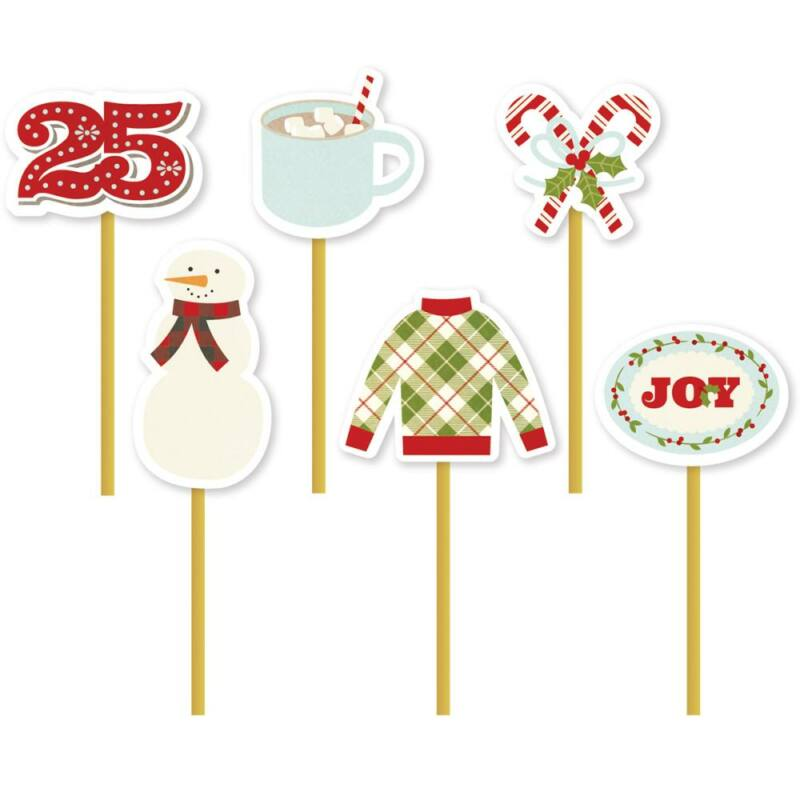 Simple Stories - Classic Christmas Decorative Clips