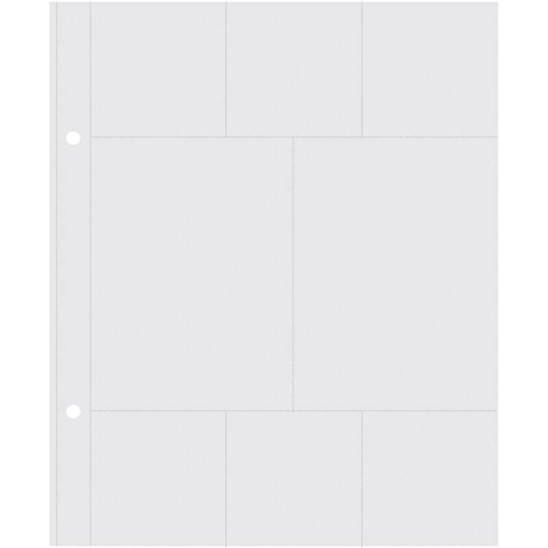 Simple Stories - SNAP 6 x 8 Pocket Pages - Insta 3x4 és 2x2