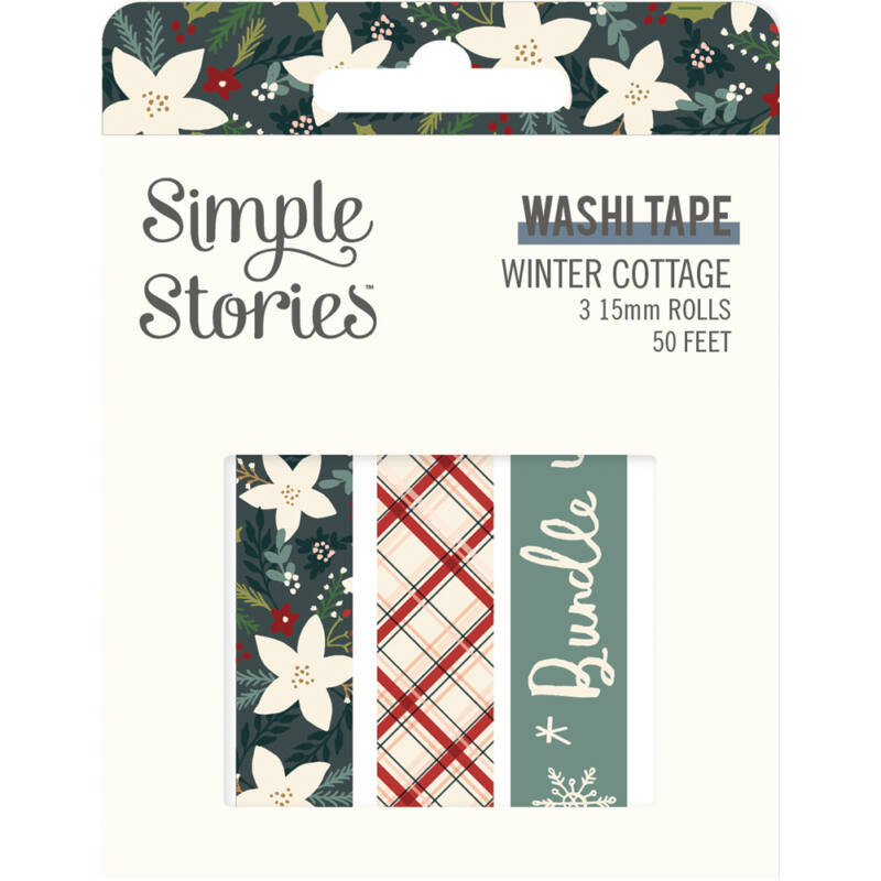 Simple Stories - Winter Cottage Washi Tape