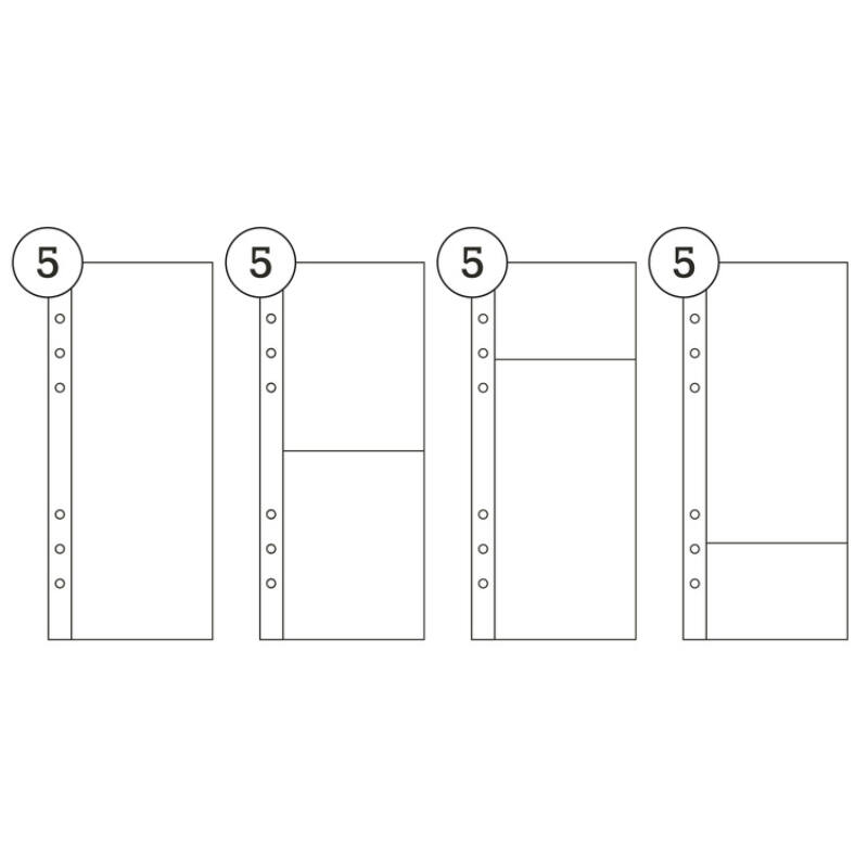 Ali Edwards - 3x8 Variety Page Protector Combo Pack