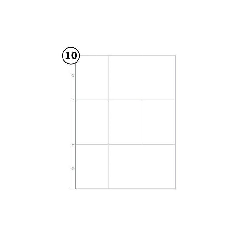 Studio Calico - 9x12 Page Protector 3B (10 Pieces)