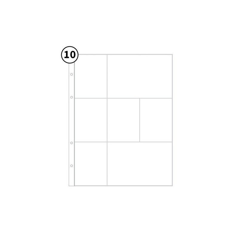 Studio Calico - 9x12 Page Protector 3B (10 Pieces)