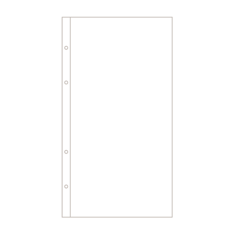 Ali Edwards - 6x12 Page Protector Design A (10 Pieces)