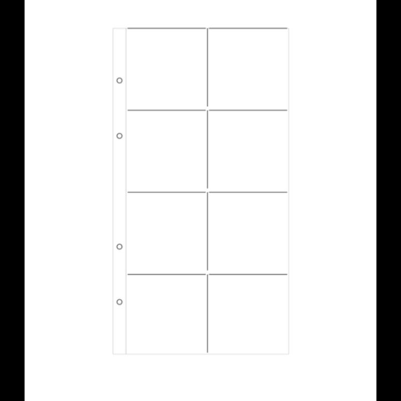 Ali Edwards - 6x12 Page Protector Design E (10 Pieces)