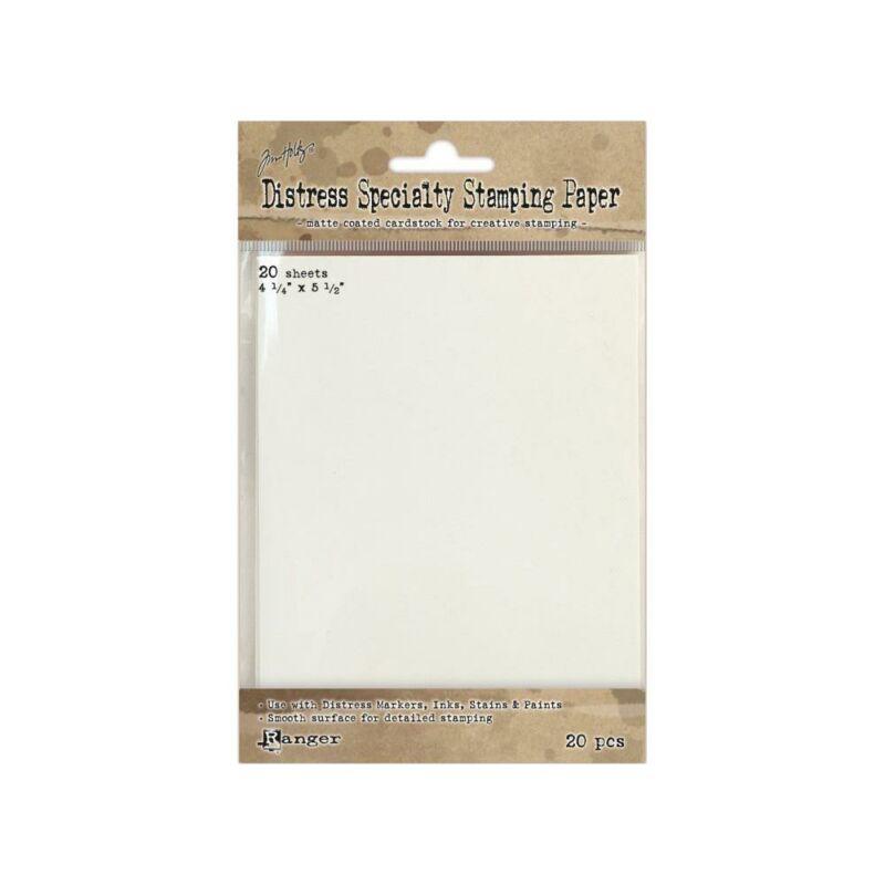 Tim Holtz Distress Specialty Stamping Paper 20/Pkg
