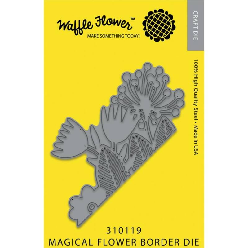 Waffle Flower Die - Magic Flower Border