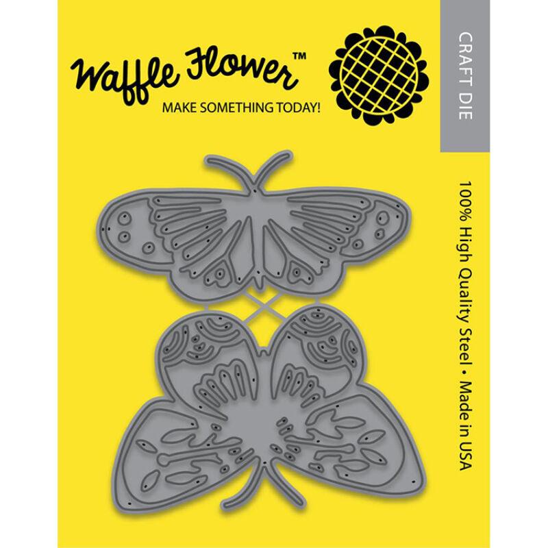 Waffle Flower Die - Pretty Butterflies