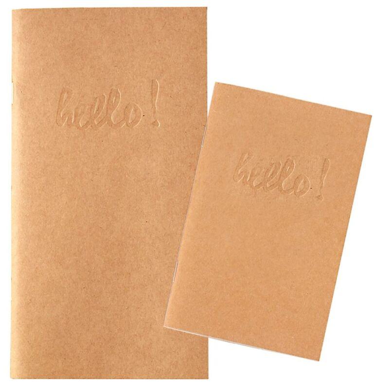 Webster's Pages Pocket Traveler's Notebooks - Kraft