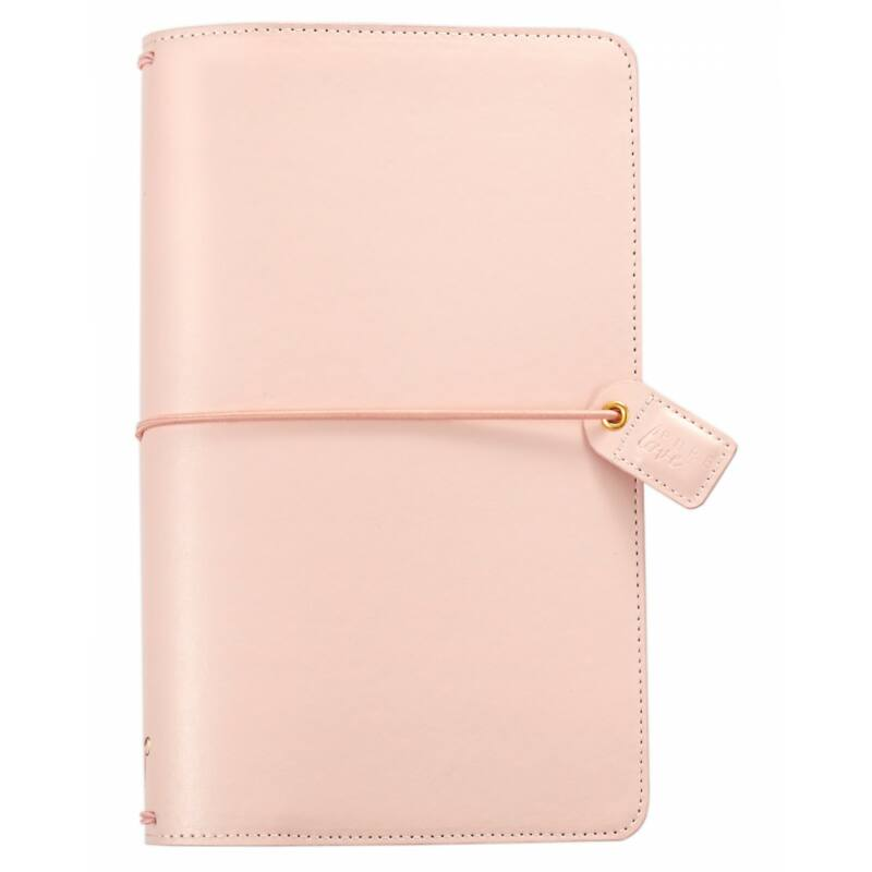 Webster's Pages Color Crush Traveler's Notebook Planner - Blush Pink