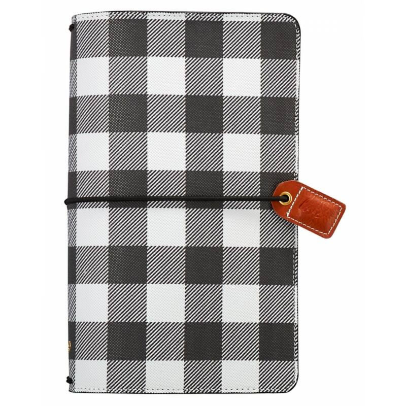 Webster's Pages Color Crush Traveler's Notebook Planner - Buffalo Plaid