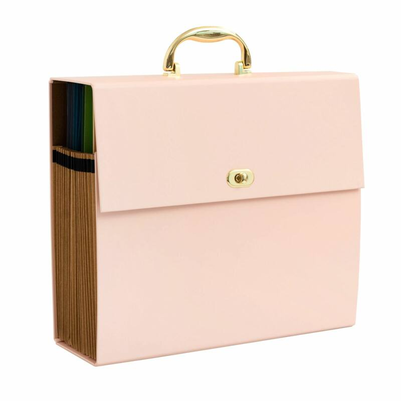 We R Memory Keepers - 12x12 Accordion Paper Storage - Pink