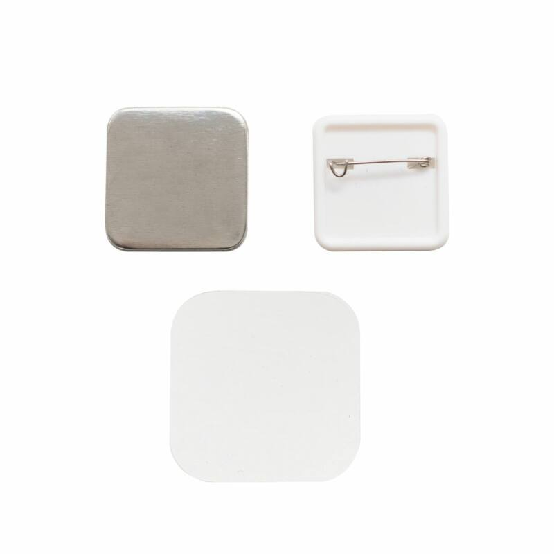 We R Memory Keepers - Button Press Square Button Kit (30 Pieces)