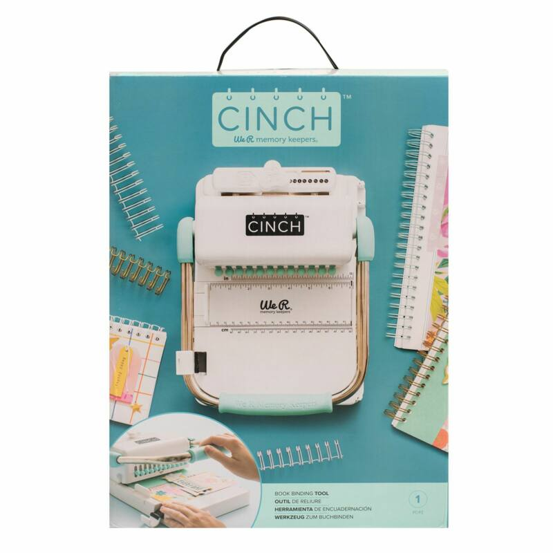 We R Memory Keepers - Cinch Book Binding Tool - Rounded Holes