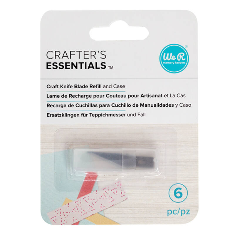 We R Memory Keepers Craft Knife Replacement Blades (6 pieces)