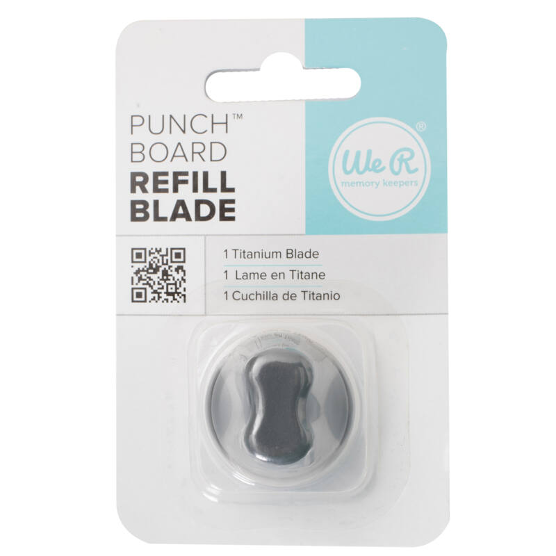 We R Memory Keepers - Punch Board Titanium Refill Blade (1 Piece)
