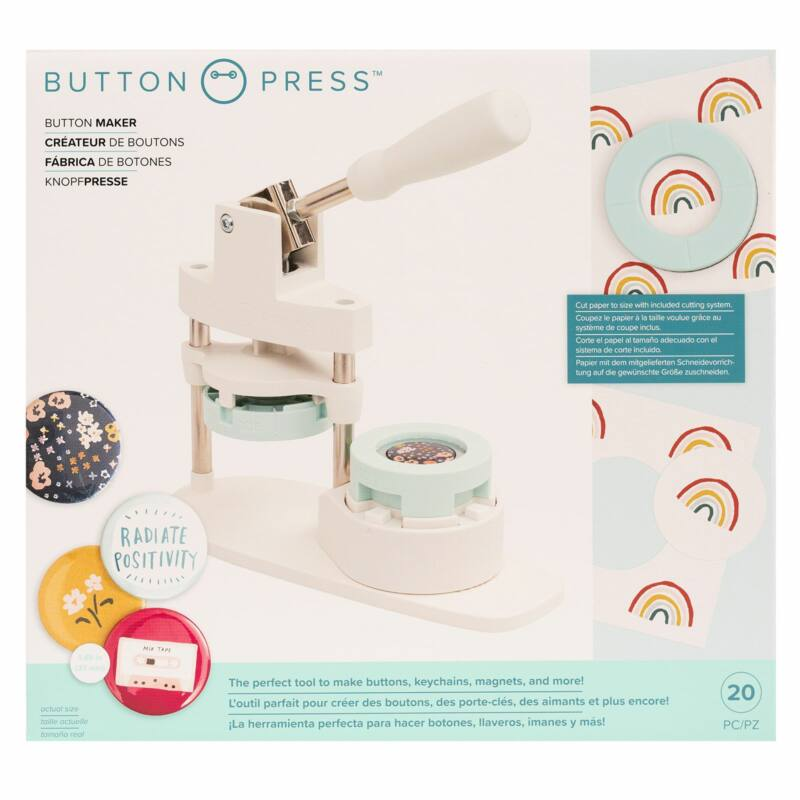 We R Memory Keepers - Button Press Kit (21 Piece)