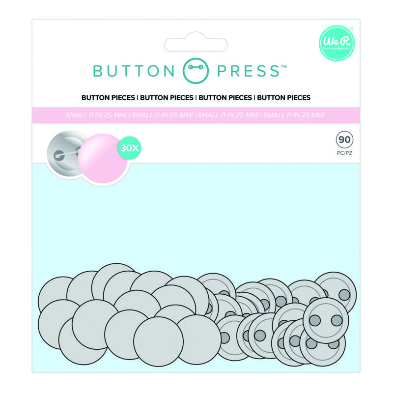 We R Memory Keepers - Button Press Small Refill Pack (90 Piece)