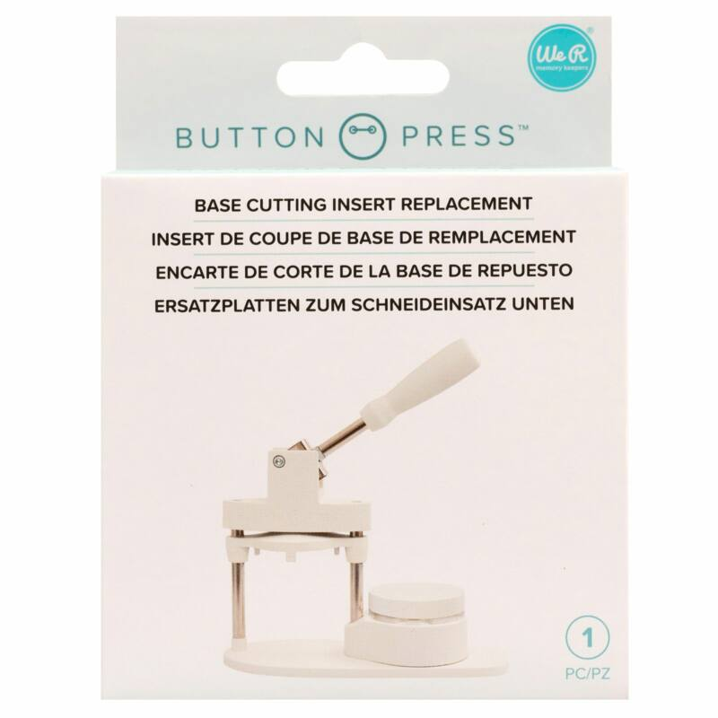 We R Memory Keepers - Button Press Die Base Refill Insert
