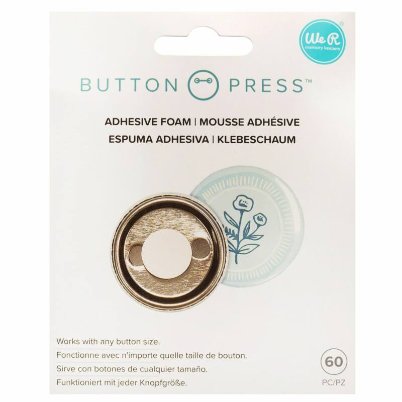 We R Memory Keepers - Button Press Adhesive Foam (60 Piece)