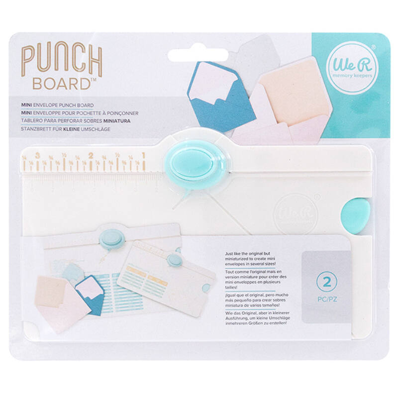 We R Memory Keepers Envelope Punch Board - Mini